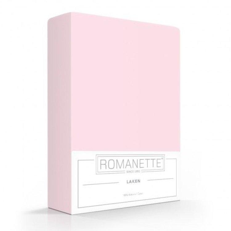 Romanette Laken Roze Katoen