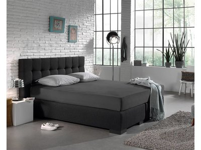 DreamHouse Hoeslaken - Jersey Stretch - Antraciet