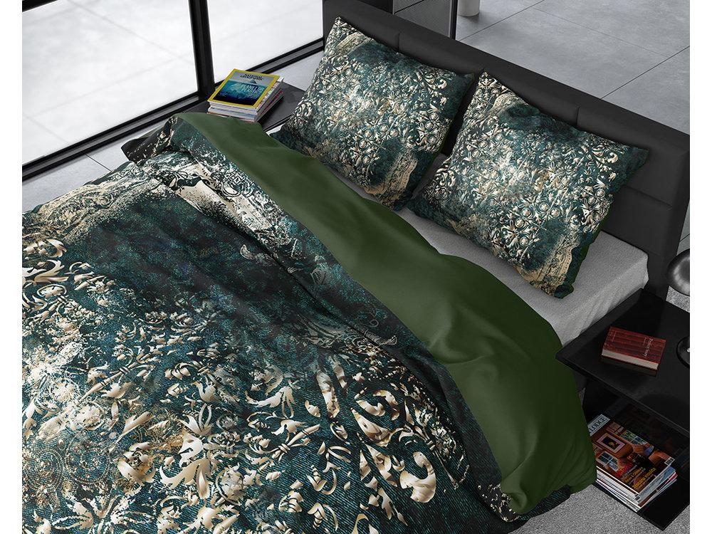 DreamHouse Dekbedovertrek Nairobi Groen Goud