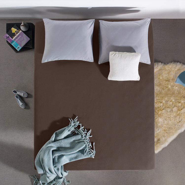 DreamHouse Hoeslaken Jersey Taupe Donker