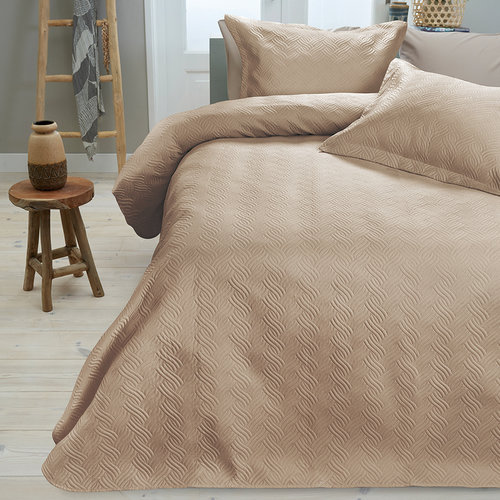 Sleeptime Sprei Wave Zand