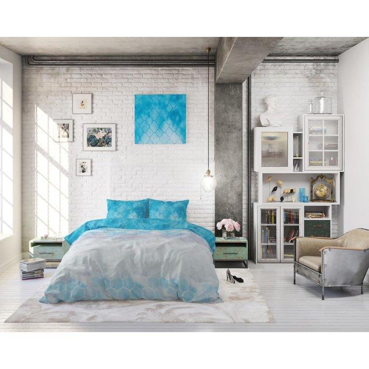 Sleeptime Dekbedovertrek Dream Wave Blauw