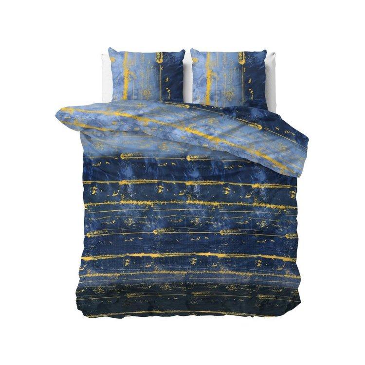 Sleeptime Dekbedovertrek Scratchy Blauw