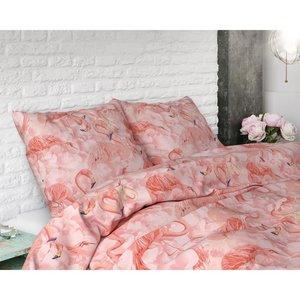 Sleeptime Dekbedovertrek Flamingo Rush Roze