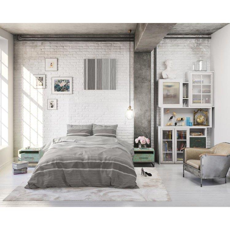 DreamHouse Dekbedovertrek Morning Grijs
