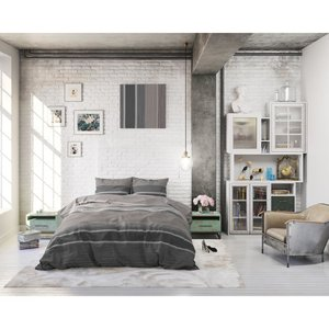 DreamHouse Dekbedovertrek Morning Taupe