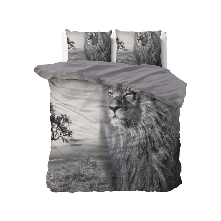 DreamHouse Dekbedovertrek King of Nature Grijs