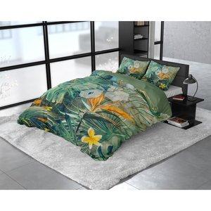 DreamHouse Dekbedovertrek Nature Fusion Groen