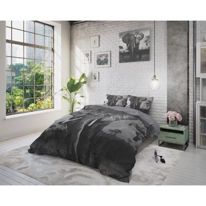DreamHouse Dekbedovertrek Elephant Mansion Antraciet