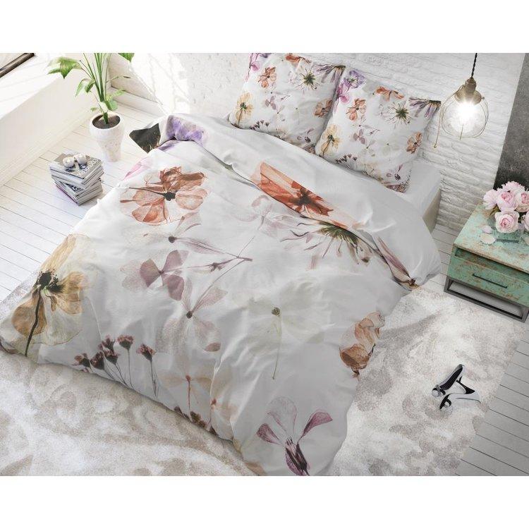 DreamHouse Dekbedovertrek Lovely Flowers Wit