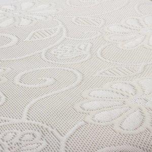 Fancy Embroidery Sprei Donna Crème