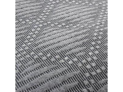Fancy Embroidery Sprei - Ritmo - Grijs