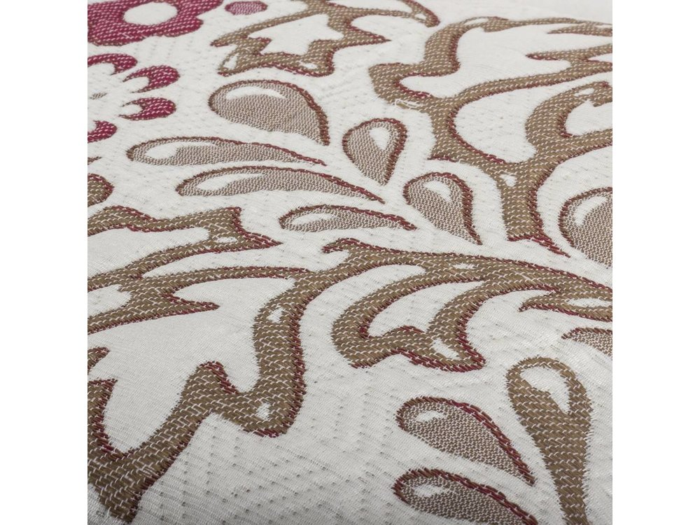 Fancy Embroidery Sprei - Yolanda - Crème - 230x270 cm