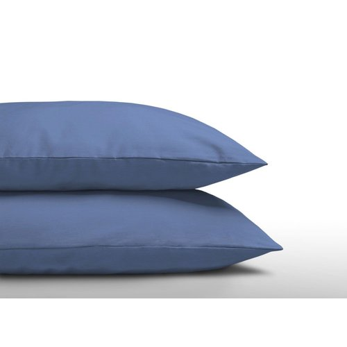 DreamHouse Kussenslopen - Katoen - Blauw - 2 Stuks