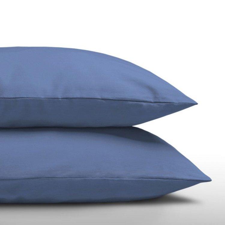 DreamHouse Kussenslopen Katoen Blauw - 2 Stuks