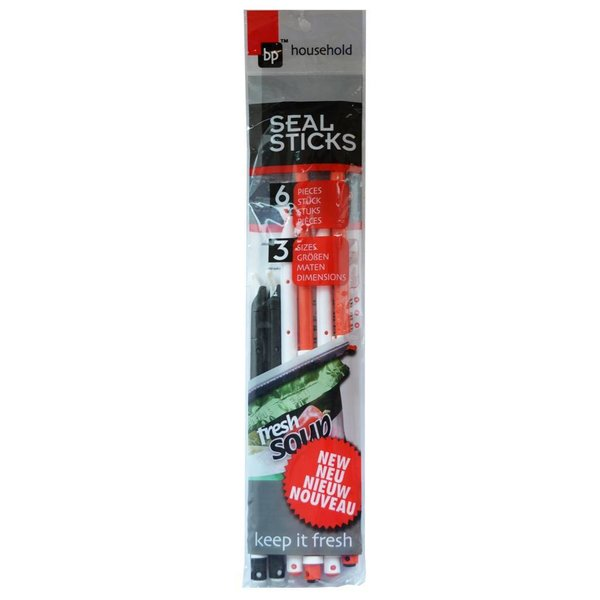 Seal Sticks Zakkensluiters Universeel [Set 6] 50% extra kassakorting (kassa koopje)