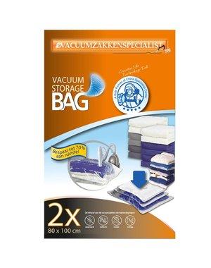 Pro Vacuumzakken 80X100 [Set 2 Zakken]