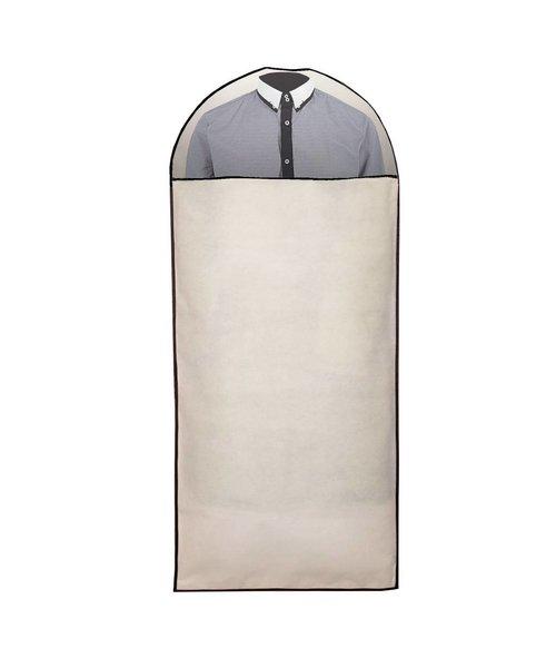 Pro Stevige Kledinghoes Met Venster Wit [135X60 cm]