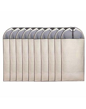 Pro Stevige Kledinghoes wit Venster [135X60cm] Set 10