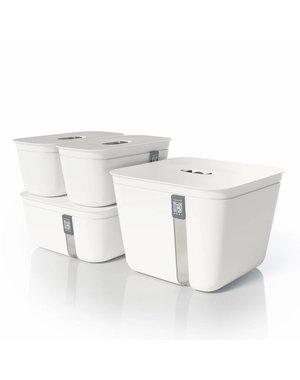 Vacuvita Vacuum Container Set Wit [4 stuks]