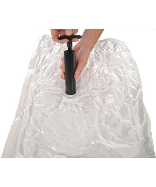 Pro Pakket Vacuumzakkentravel [Set 10 Zakken + Pomp]