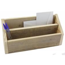Postbak van steigerhout