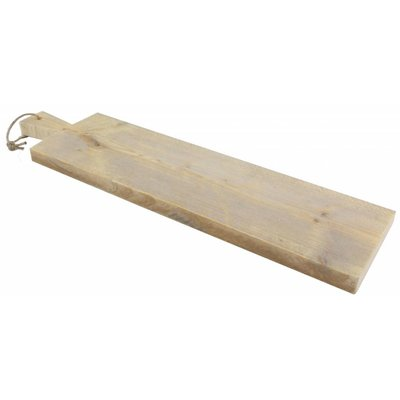 Serveerplank van steigerhout - 76 cm lang