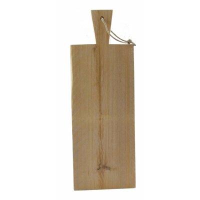 Serveerplank van steigerhout - 55 cm lang