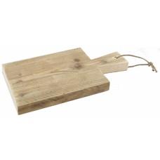 Serveerplank van steigerhout - 36 cm lang