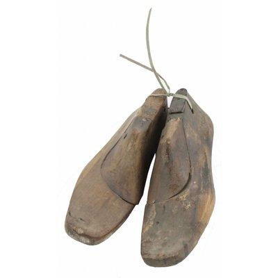 Schoenleest van hout