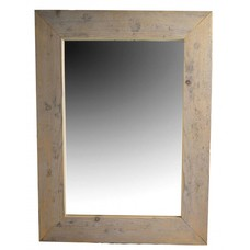 Spiegel van steigerhout