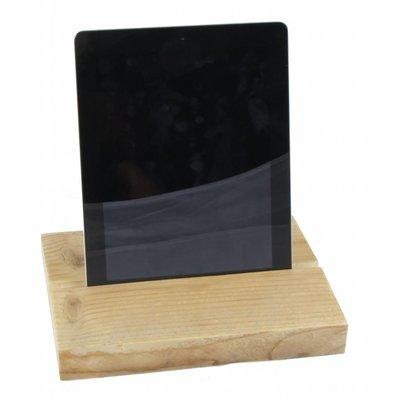 iPad standaard steigerhout