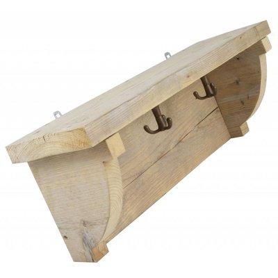Kapstok van steigerhout