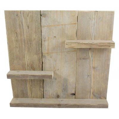 Wandbord van steigerhout - 55 cm hoog