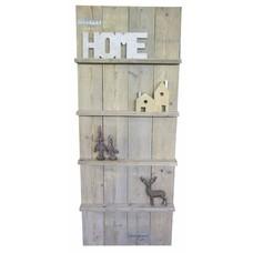 Wandbord van steigerhout - 200 cm hoog