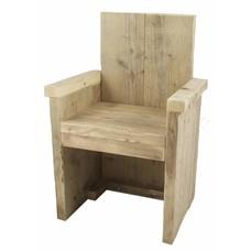 Kinderstoel van steigerhout