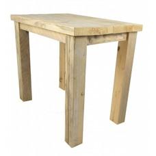 Kindertafel van steigerhout