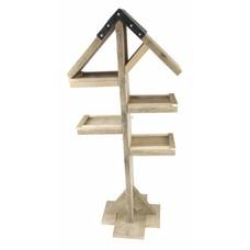 Vogelhuis van steigerhout