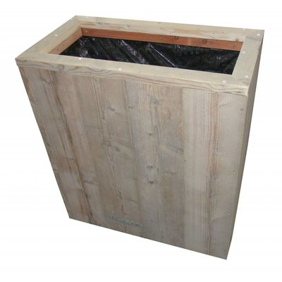 Bloembak van steigerhout
