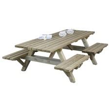 Picknicktafel met open instap