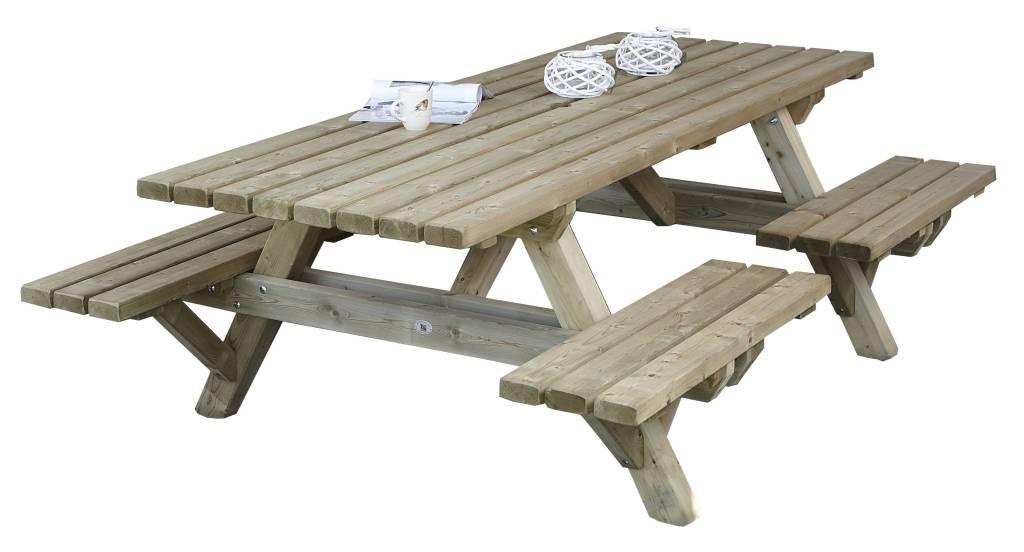 Picknick Tafel Stevig.Picknicktafel Met Open Instap Leefhuus