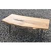 Unieke salontafel iepenhout