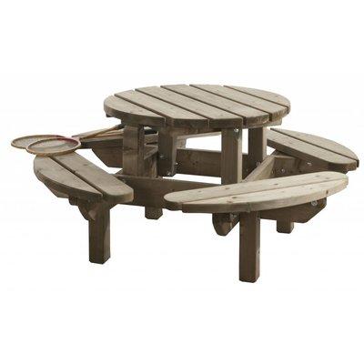 Kinderpicknicktafel rond 130 cm