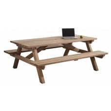 Picknicktafel van hardhout 160 x 200 cm