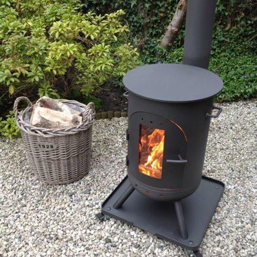 Burnies Topper - Outdoor Wood Burner (Stainless Steel 316L)