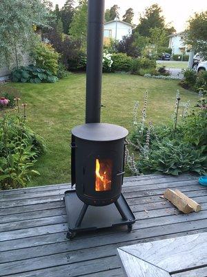 Burnies Topper + Vloerplaat (16-08-07 Jansen - Zweden)