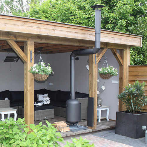 Burnies Classic Veranda 2x90° (RVS316L)