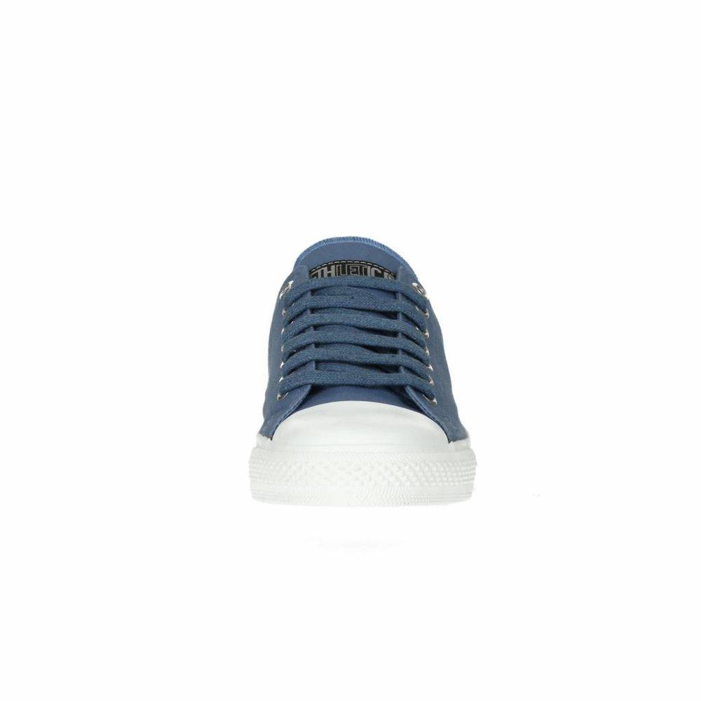 Ethletic Fair Trainer  White Cap Lo Cut Collection 17 Pale Denim | Just White