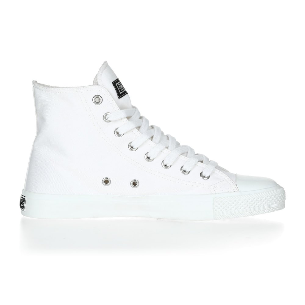 Ethletic Fair Trainer  White Cap Hi Cut Collection 17 Just White | Just White