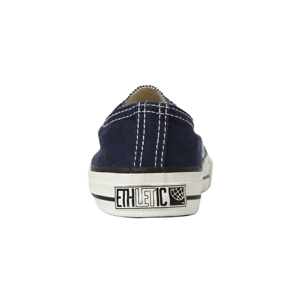 Ethletic Kids Lo Cut Classic Ocean Blue | Just White